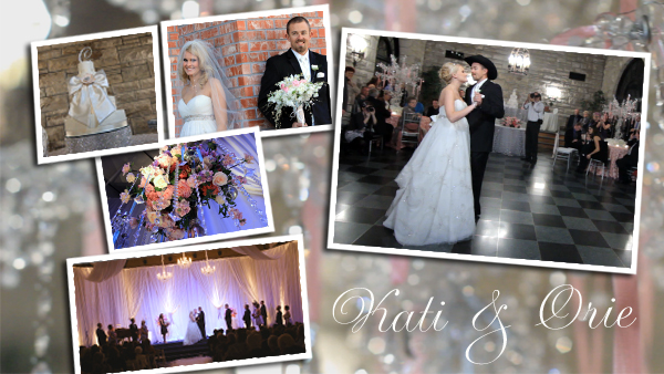 This winter wedding just sparkles The Wedding Belle turned the church 39s