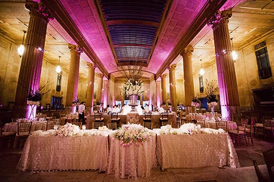 Head Table Wedding Reception