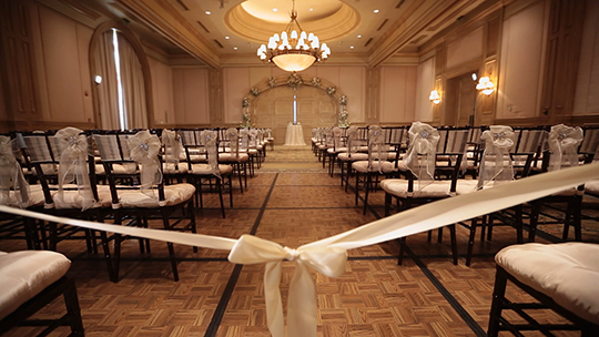 Gaillardia Wedding in the Ballroom