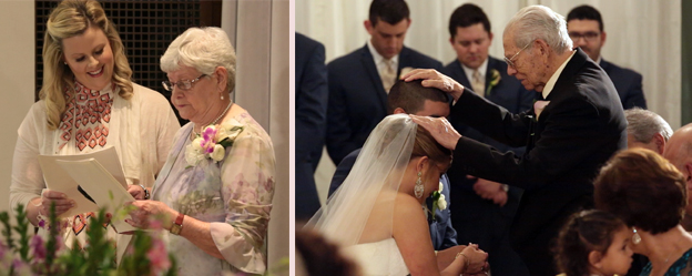 Honoring Grandparents at your wedding