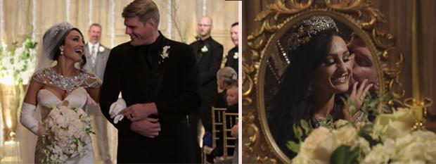 Gaillardia Wedding Day Edit with Bride and Groom