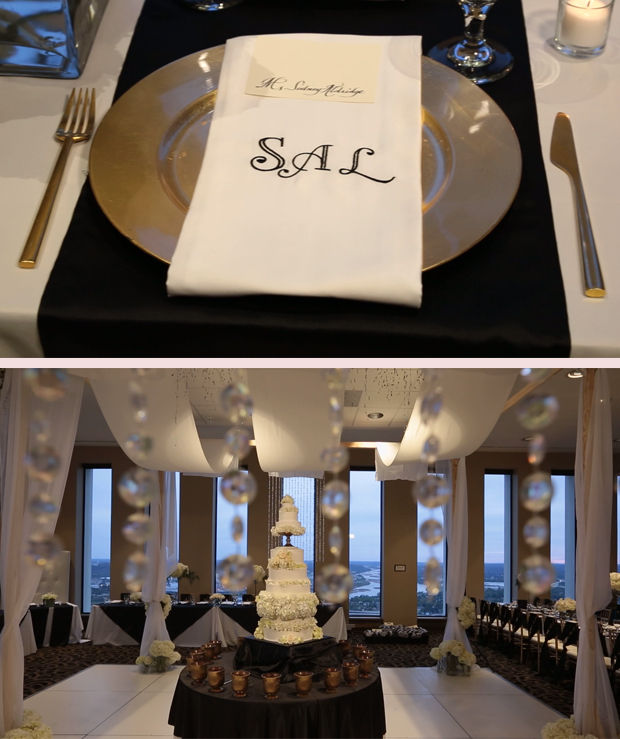 Personalized-Napkins-Wedding-Cake