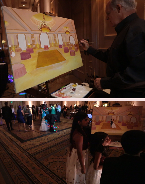 Portrait-Artist-Wedding-Reception
