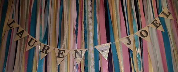 Ribbon Banner with names