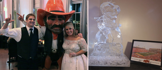 Pistol Pete Makes Tulsa Wedding Appearance