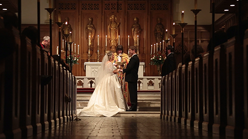 Trinity Episcopal Tulsa Wedding