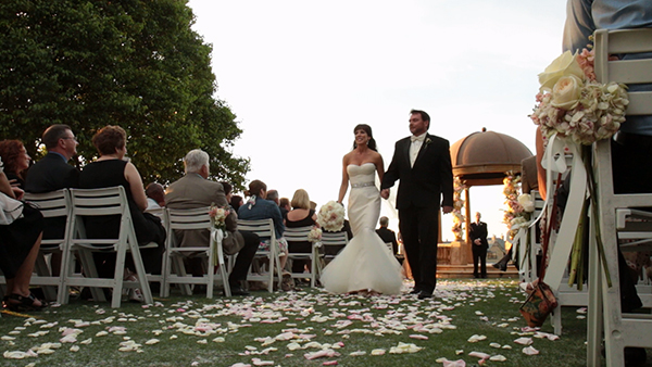 Outdoor Wedding Ceremony Gaillardia Country Club